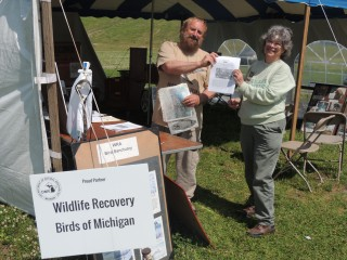 Public events such as this, at Milliken State Park are often done in conjunction with the Department of Natural Resources, conservation districts, land conservancies, and Audubon Chapters.