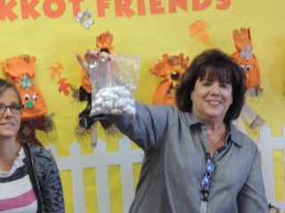 """Teachers can order owl pellets from biological supply companies - this is a great """"hands on"""" project to follow the live bird program."""